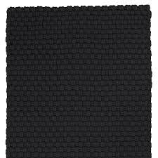 teppich läufer schwarz 50 x 160