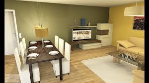 offene küche mit wohn esszimmer cad im zeitraffer bau medien zentrum bmz düren