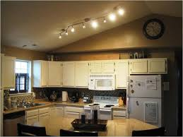 adorable kitchen track lighting island with white cabinet kitchen