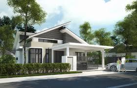 100 Bungalow Design Malaysia Double Storey House