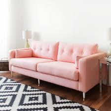 Karlstad Sofa Legs Etsy by Karlstad Sofa Ikea Hack Mid Century Inspired Pink Sofa Home