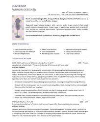 Graphic Design Resume Objective Statement 26 Super Fashion Designer Page1 Samples Pinterest Of 22