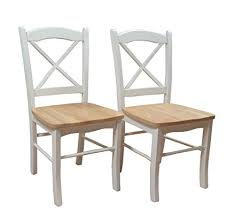 Target Marketing Systems Set Of 2 Tiffany Dining Chairs With Cross Back