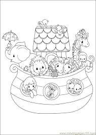 Noah Ark Popular Coloring Page