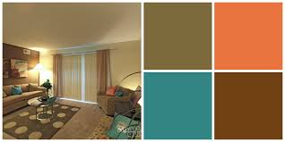 earth tone living room paint colors decor with bright touch design