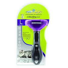 amazon com furminator long hair deshedding tool for cats large