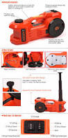 Aluminum Floor Jack 3 Ton by 12v 3 Ton Electric Hydraulic Floor Jack Lift 6600 Lbs With Tire