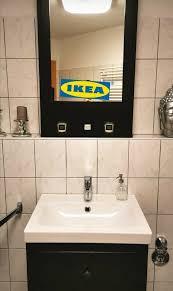 ikea hemnes bad waschbecken spiegelschrank und unterschrank