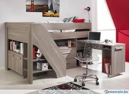 lit enfant bureau lit enfant surélevé avec bureau et rangements a vendre 2ememain be