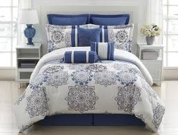 Incredible Blue And Grey forter Sets Fraufleur Within Blue And