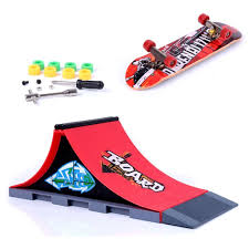 Tech Deck Finger Skateboard Tricks by Mini Finger Skateboard And Ramp Accessories Set A Amazon Co Uk