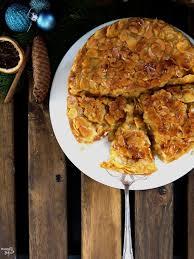 apfel zimt bienenstich torte glutenfrei und vegan vegan