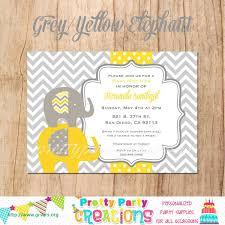 Zoo Baby Shower Invitations