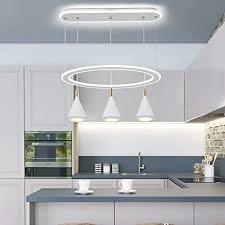 yun clock 95w led pendelleuchte für esstisch hängeleuchte dimmbar pendelle hoehenverstellbar leuchte für esszimmer wohnzimmer esszimmer