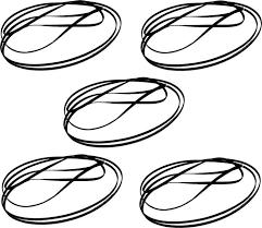 Epson Original L210 Timing Belt Pack Of 5 For L110 L310 L360 L130 L313
