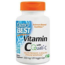 Amazon Doctor s Best Vitamin C with Quali C 1000 mg Non GMO