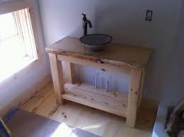 Bathrooms Design Wooden Crate Little Vintage Nest Ways Diy Farmhouse Bathroom Vanity To Style Magpie Headboard White Ideas Shelves Rustic Grey Beach