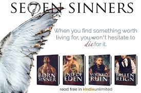 The Complete Se7en Sinners Series Is Available In KindleUnlimited Have You Met Eden L Luc Yet Start Today Bitly Born Sinner