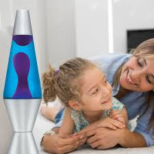 Spencers Lava Lamp Not Working by 2118 Purple Wax Blue Liquid Walmart Com