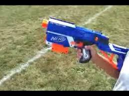 nerf retaliator range test without barrel