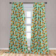 gardine fensterbehandlungen 2 panel set für wohnzimmer schlafzimmer dekor abakuhaus polyart vintage strand sommer kaufen otto