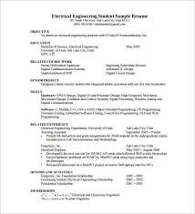 Electrical Engineer Resume Objective Beautiful Samples For Job Kidsafefilms Org