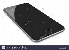 Apple Space Gray iPhone 6 Plus with blank screen The new iPhone