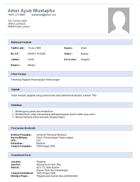 Formidable Sample Resume For Government Job In Malaysia Also Example Good Ixiplay Free Samples