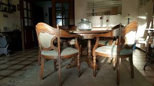 esszimmer eiche rustikal tisch 5 stühle