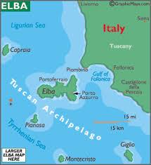 Island Of Elba Near Tuscany Coast