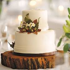 Fall Wedding Cake Bags Ideas With Acorns And Cute Squirrels