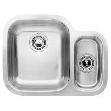 Blanco Sink Strainer Replacement Uk by Blanco Supreme 533 U 1 5 Bowl Stainless Steel Sink Left Hand Bowl
