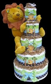 Jungle Baby Boy Shower Cake A Little Of This And A Little Of That