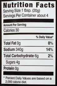 Mccormick Pumpkin Pie Spice Nutrition Facts by Mccormick Grill Mates Sweet Mesquite U0026 Caramelized Onion