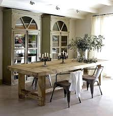 Decoration Best Rustic Dining Room Tables Ideas On Wood Distressed Table Set Pinterest Decor