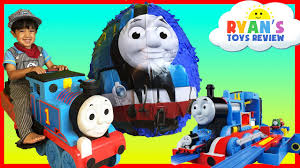 Thomas The Train Pumpkin Designs by Giant Egg Surprise Opening Thomas And Friends Toy Trains Disney