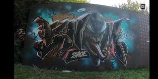 100 Grafitti Y I Thought Yall Might Enjoy This Venom Graffiti Piece CRED SMOE