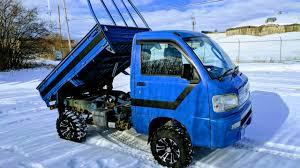 100 Hijet Mini Truck Custom Upgraded Dump Overview YouTube