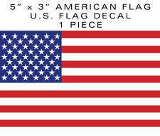 1 Piece American Flag Bumper Sticker Decal 5