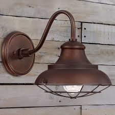 Image Of Brown Rustic Wall Sconces