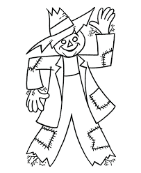 Full Image For Coloring Page Sheets Simple Scarecrow Easy To Free Pages Print Christmas