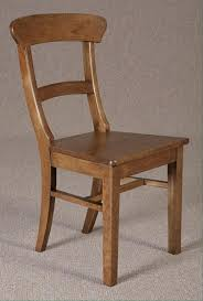 Antique Oak Kitchen Chairs Curved Back Dining Chair Antique