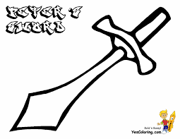 Peter Sword Bible Pic To Color In At YesColoring