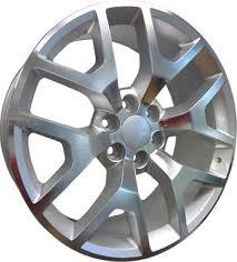 OE Replicas Wheels 2014 Sierra Silver Machined in Houston at