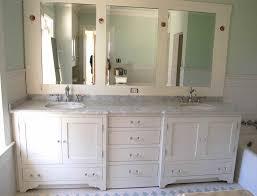 Double Vanity Bathroom Mirror Ideas by Bedroom Endearing Pvc Bathroom Vanity With Mirror Cabinet Photos