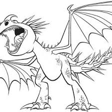 How To Train Your Dragon Image Coloring Pages