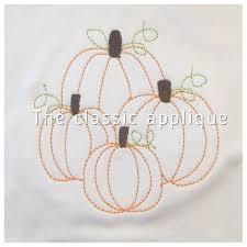 San Martin Pumpkin Patch by Four Pumpkins In A Patch Vintage Quick Bean Stitch Design File