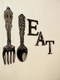 large wooden fork and spoon wall hanging black kitchen wall decor large fork spoon wall decor eat sign