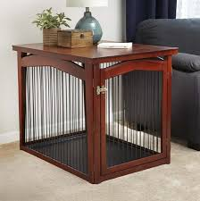How To Build A End Table Dog Crate by 5 Tips For Choosing The Right Size Dog Kennel Overstock Com