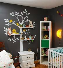 Tree Sticker Adds Interest To A Neutral Wall